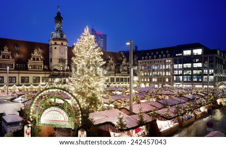 Leipzig Christmas Fair