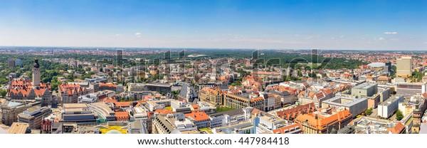 Leipzig, Panorama
