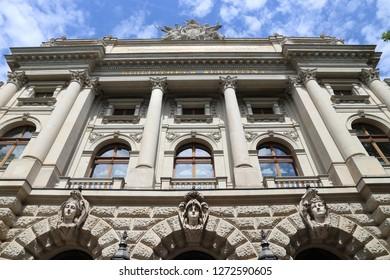 Leipzig University Library also known as Bibliotheca Albertina.