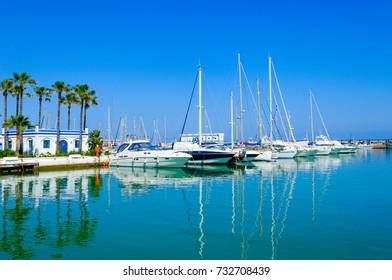 Leisure Port of Estepona, Andalusia, Spain