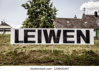Leiwen at the Moselle Rhineland-Palatinate Germany.