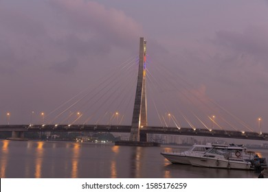 Lekki - Ikoyi link bridge, commissioned in2013.