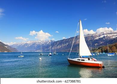 Leman Lake, Switzerland, Europe