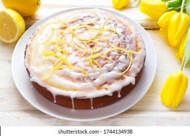 Gâteau au citron vert
