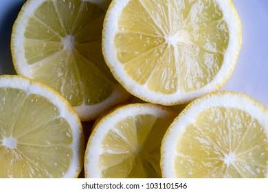lemon fresh fruit