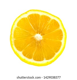 lemon fruit isolated on white background with clipping path.