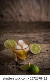 Lemon Fruit Lime Caipirinha of Brazil
