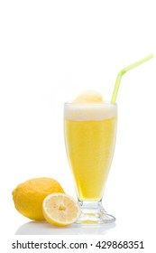 Lemon  Granita slush refreshment