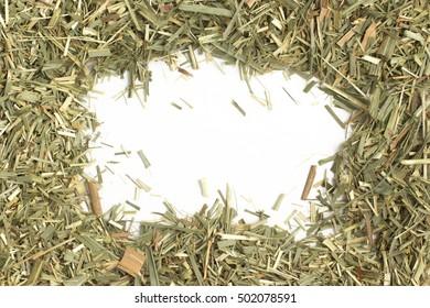 Lemon Grass. Cymbopogon citratus. Capim Limao, Santo. Dried Herb for Tea