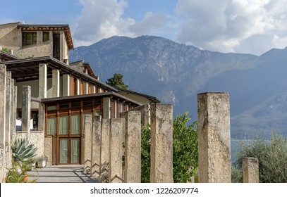Lemon house in Limone on Lake Garda in Italy
