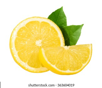Lemon isolated. without shadow