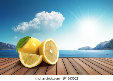 lemon on the harbor