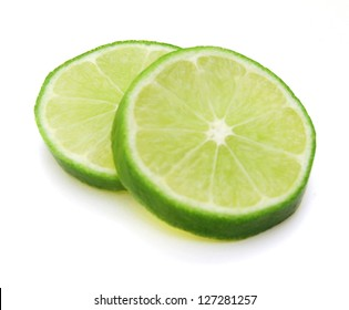 Lemon sliced and stacked