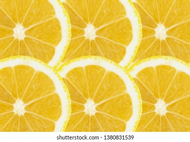 Lemon Slices, Seamless Decorative pattern backgrounds for artwork, designs, wallpaper, photo creative concept