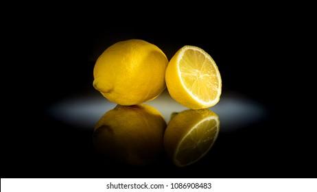 Lemon in spotlight