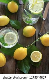 lemon & lemon water