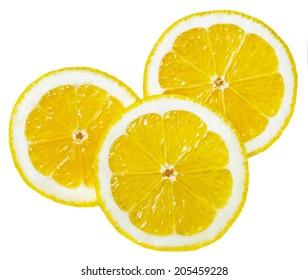 lemon wedges round