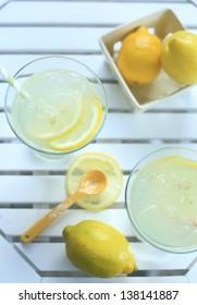 lemonade with lemon