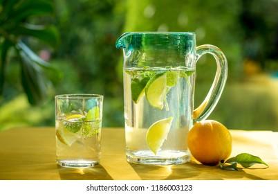 Lemonade refreshing drink