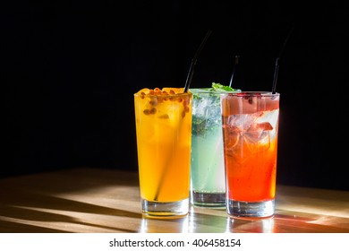 Lemonades. Refreshing summer drinks.