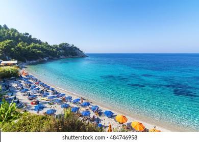 Lemonakia beach in Samos Island