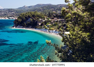 Lemonakia beach, Samos island, Greece