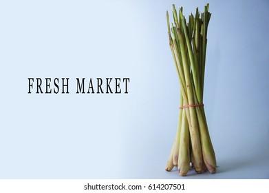 lemongrass at fresh market