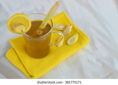 Lemongrass gingerc lemon tea