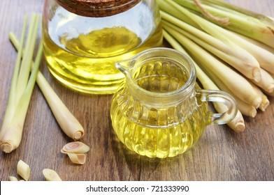 lemongrass oil with lemongrass