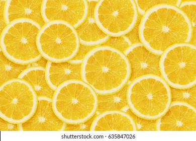 Lemons cuted background
