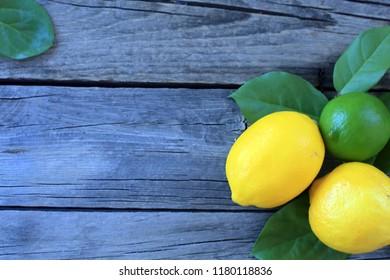 lemons on table
