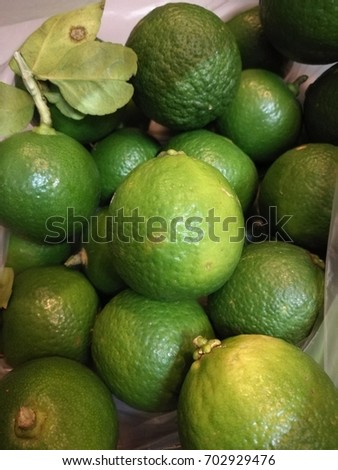 Lemons Organic Agricultural Products Stock Photo (Edit Now