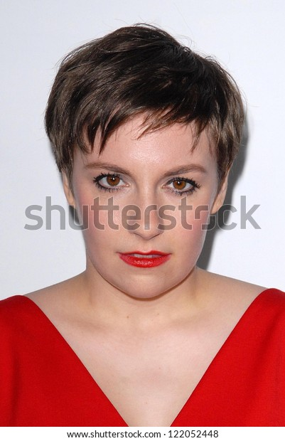 """Lena Dunham at the """"This Is 40"""" Los Angeles Premiere, Chinese Theater, Hollywood, CA 12-12-12"""