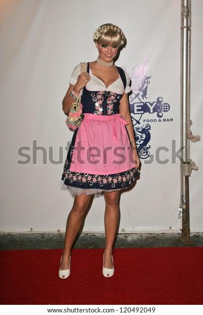 Lena Gercke Heidi Klums 7th Annual Stock Photo Edit Now