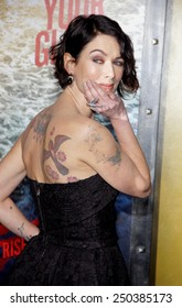 """Lena Headey at the Los Angeles premiere of """"300: Rise Of An Empire"""" held at the TCL Chinese Theatre in Los Angeles on March 4, 2014 in Los Angeles, California."""