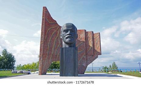 Lenin monument, Russia (Sokolskoe village)