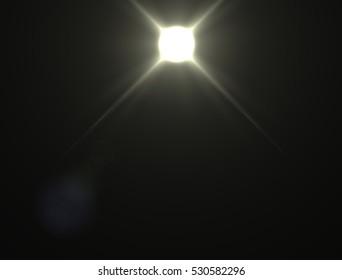 Lens flare light