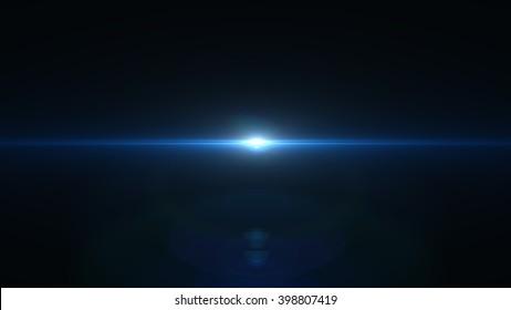 Lens flares 8K on white background