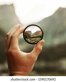 A lens focusing on nature - Shutterstock ID 1590170692