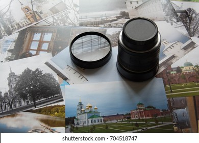 Lens and photo filter in the workplace