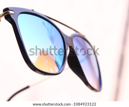 the lenses of polarized sunglasses reduce glare reflected at some angles  off shiny non-metallic