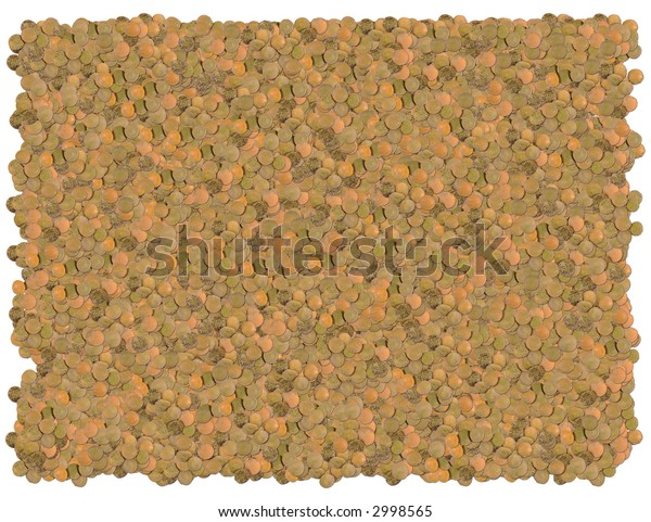Lentils background. From The Food background series
