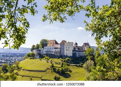 Lenzburg castle, built in the 11 century, in Canton Aargau, Switzerland