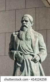 Leo Tolstoy Statue in Japan