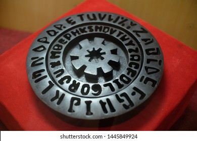 Leon Alberti cryptography, cryptographer who succeeded in encrypting code, passwords, letters, in 1466 AD. Known as Renaissance humanist writers, architects, poets, priests, linguists, philosophers