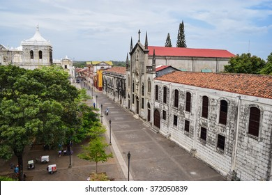 Leon, Nicaragua May 21, 2015: Scenes of daily life in the colonial city of Leon in northern Nicaragua former home of the Sandinista resistance. General travel imagery for Nicaragua.