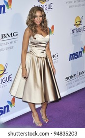 Leona Lewis at music mogul Clive Davis' annual pre-Grammy party at the Beverly Hilton Hotel. February 9, 2008  Los Angeles, CA Picture: Paul Smith / Featureflash