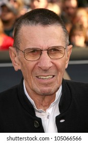Leonard Nimoy at the Los Angeles Premiere of 'Star Trek'. Grauman's Chinese Theatre, Hollywood, CA. 04-30-09