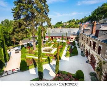 Leonardo da Vinci Museum, Clos Lucé Castle, Amboise, Indre-et-Loire, Loire Valley, Center, France, july 2015