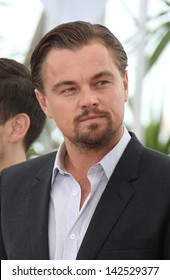Leonardo DiCaprio at the 66th Cannes Film Festival - Great Gatsby photocall, Cannes, France.  15/05/2013